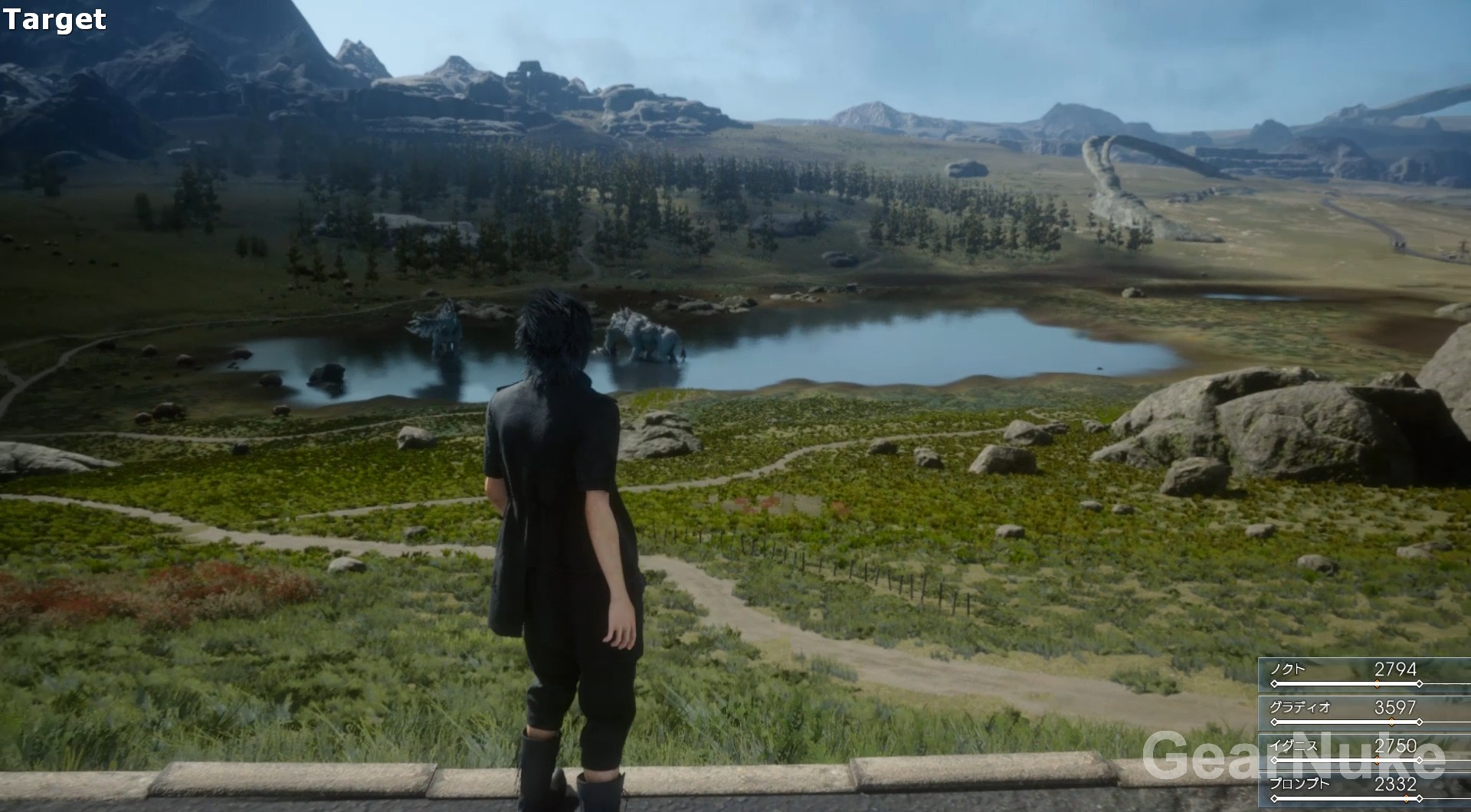 Final Fantasy XV Target Build Vs PS4 Demo Comparison Shows How The Engine Scales To Consoles