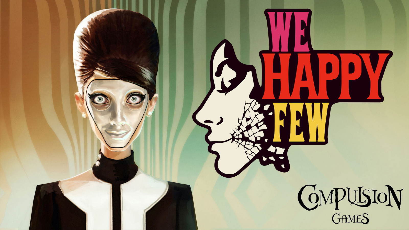 Image result for we Happy Few Game Cover