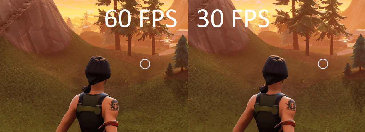 Fortnite Is Stunning At 4K60 FPS On Xbox One X Visual Comparison Between 30 Vs 60 FPS Inside
