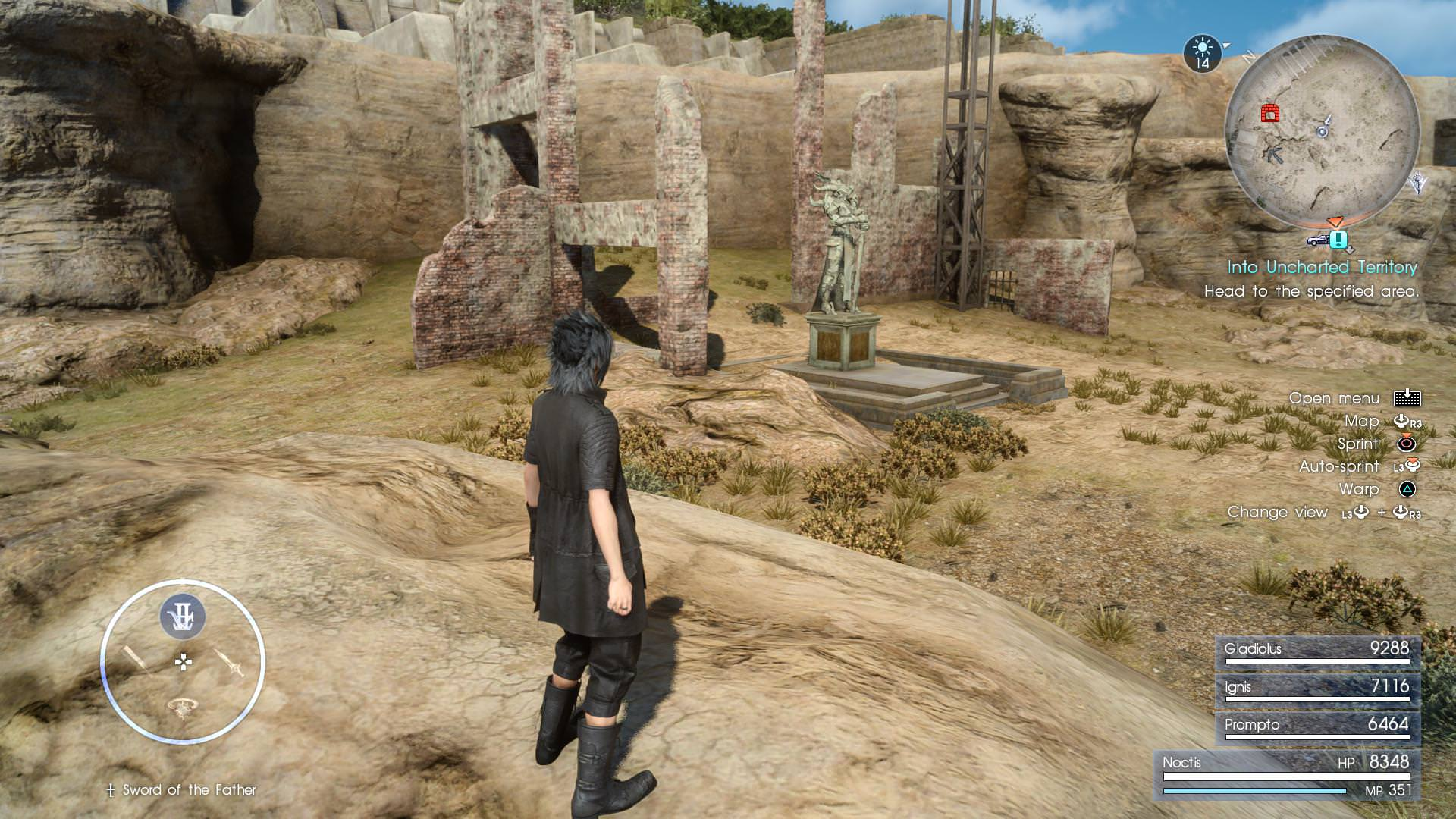 Final Fantasy XV Royal Edition How To Unlock Armiger