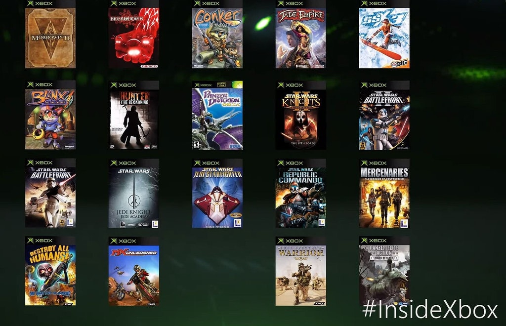 19 OG Xbox Games Announced For Xbox One Backward