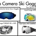 Top Camera Ski Goggles