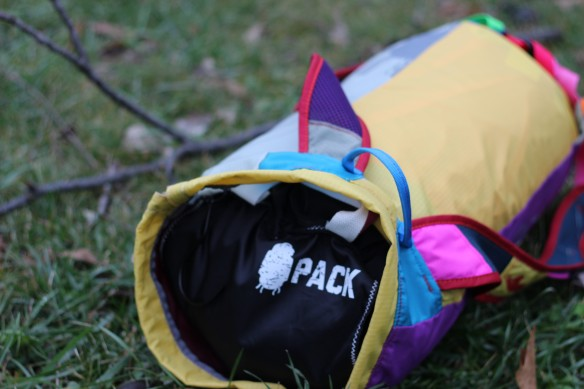 pack gear in bag