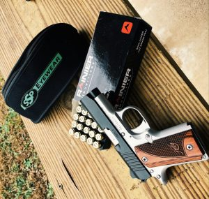 Kimber Micro 9 and Rainier Munitions