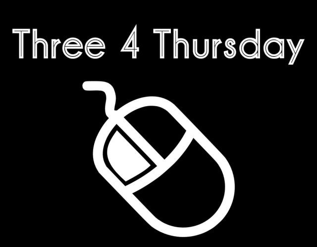 Three 4 Thursday feature