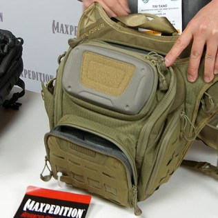 Maxpedition WOLFSPUR at 2016 SHOT Show