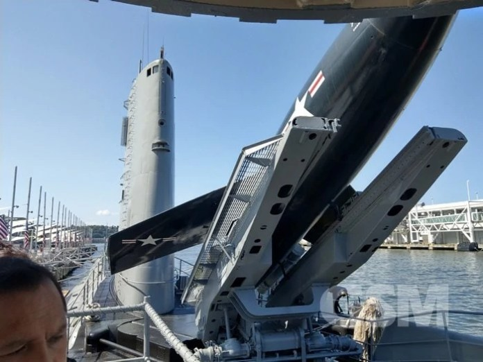 Growler Submarine, USS Intrepid Sea, Air and Space Museum