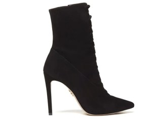 All About Mei Luxe Lace Up Booties by Zvelle