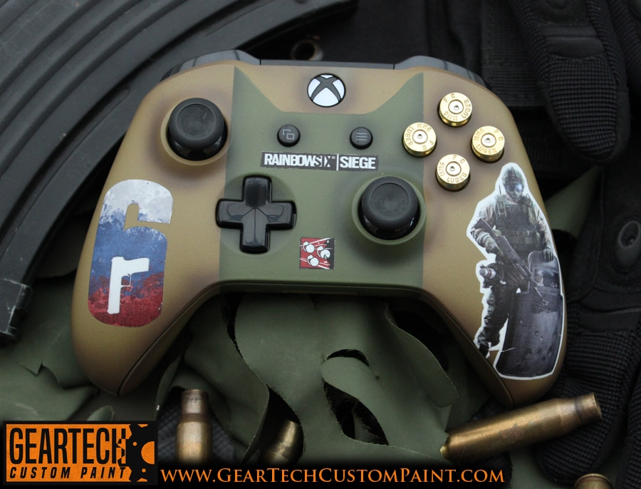 Xbox One Rainbow 6 Siege Fuse Controller GearTech