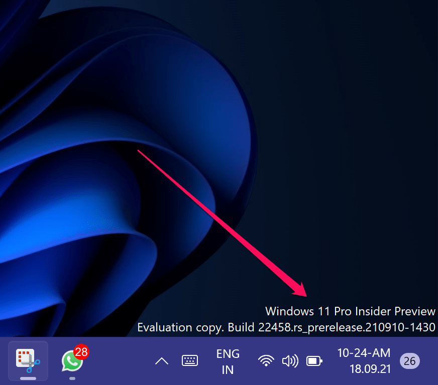 How to Remove Evaluation Copy Watermark on Windows 11?