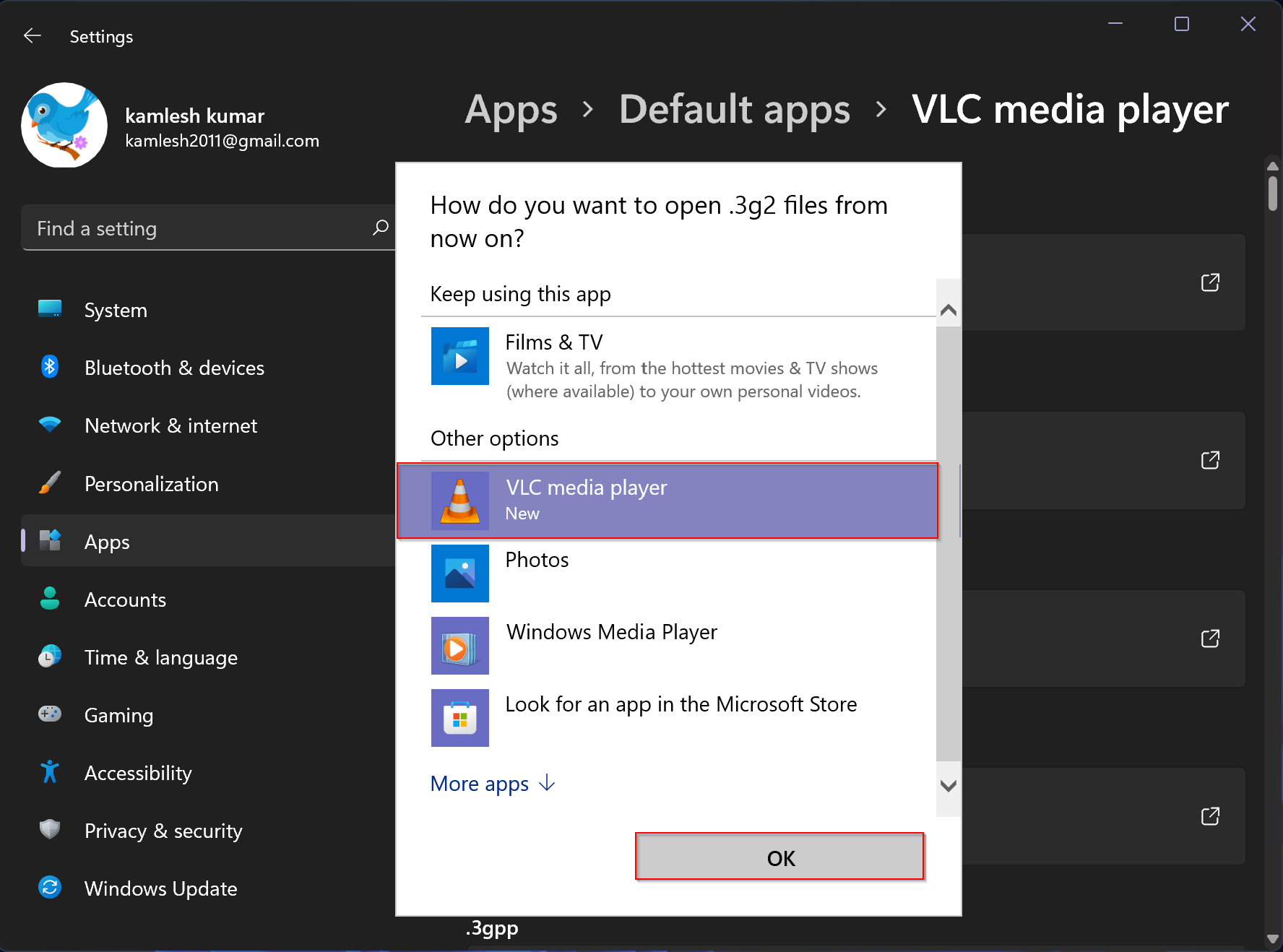 How to Make VLC the Default Media Player in Windows 11?