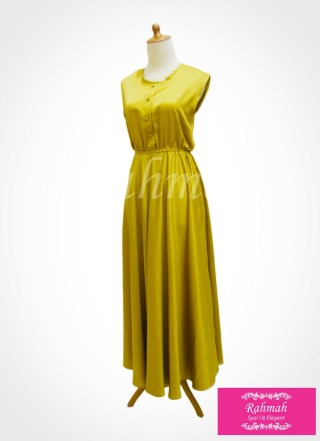 azalia dress gold