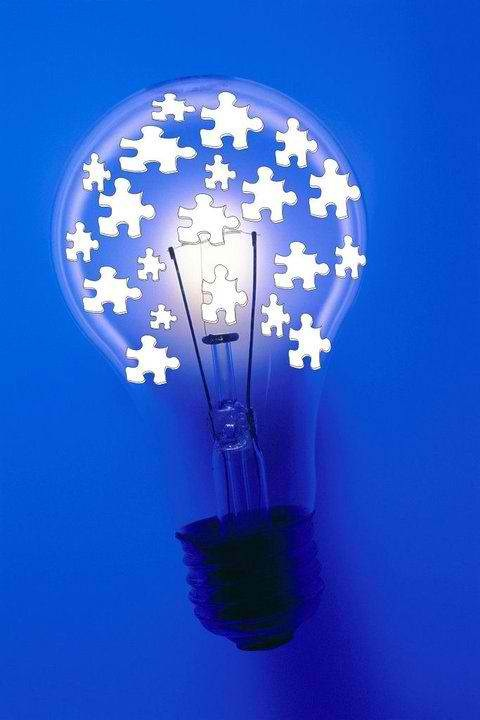 Blue Light Bulb Meaning