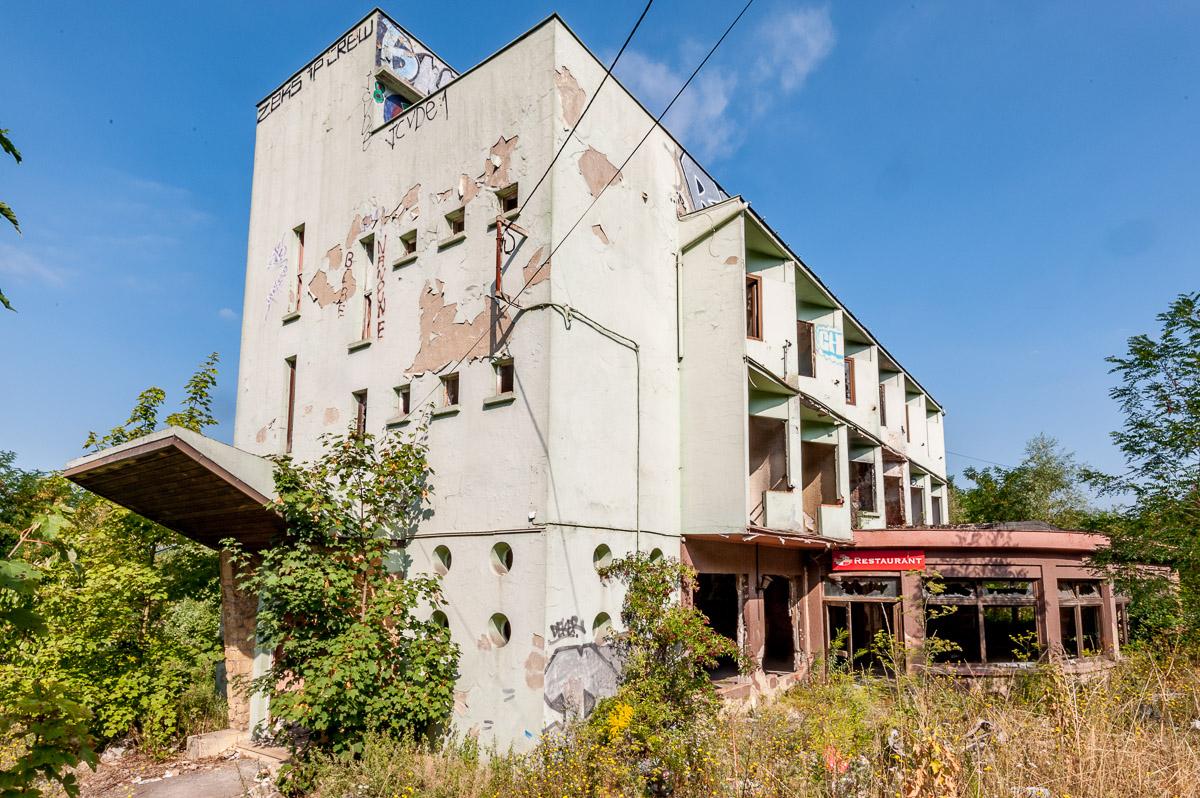 Ruine de restaurant – Lost places