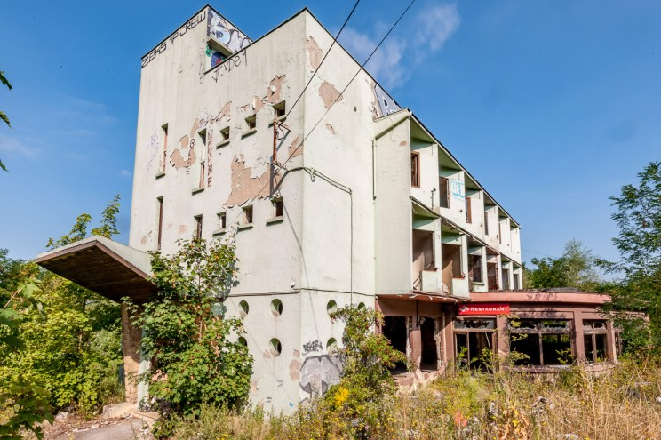 Ruine de restaurant – Lost places