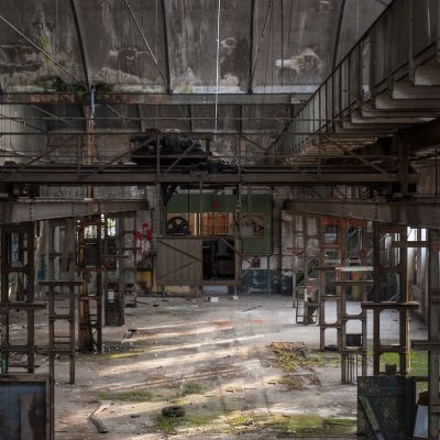 Alte Industriehalle