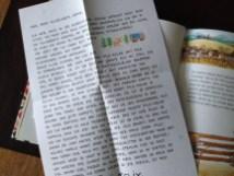 Brief vom kleinen Hasen