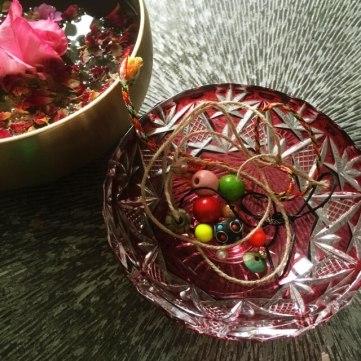 geschenkte Perlensammlung