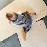 Bretter, im Baumarkt zugeschnitten