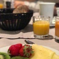 tägliches Frühstücksbuffet im Feldhof