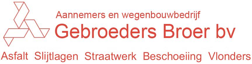 Aannemers en wegenbouwbedrijf Gebroeders Broer bv