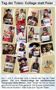 Baila Mexiko - Tag der Toten am 1. und 2. November 2020