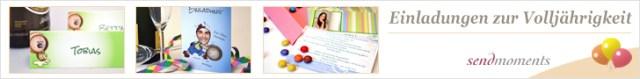 18. Geburtstag, Einladungen, Geburtstagskarten, Danksagungskarten bestellen