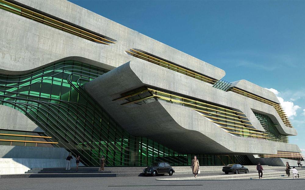 Zaha Hadid Pierres Vives Building Montpellier