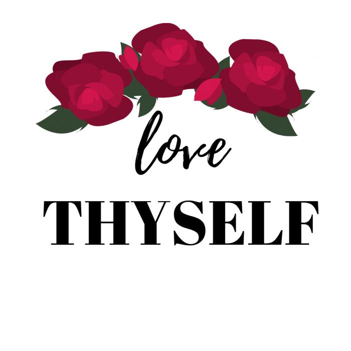 Love thyself, self-love