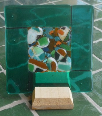 Pebbles - green - C9,500