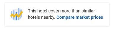 Google Hotel Search: Compare prices