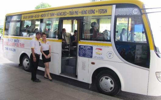Nha Trang airport bus Dat Moi