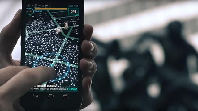 Ingress Game Screenshot