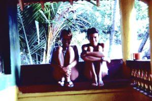 Doris und Corinne in Indien 1983