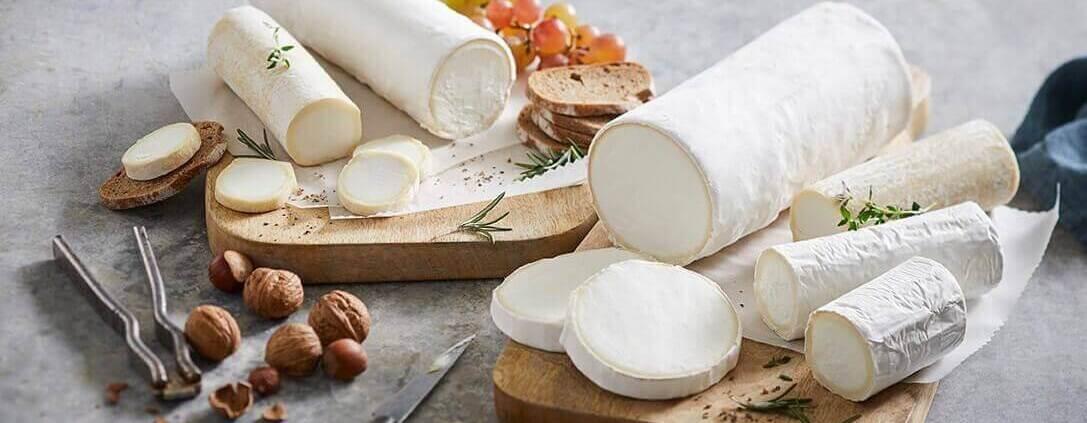 Gederuller anrettet på ostebord