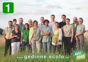 Conférence de presse : présentation de la liste Ecolo de Gedinne