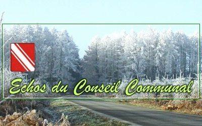 Conseil communal du jeudi 26 janvier 2017
