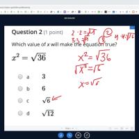 Preguntas de el examen de GED matematicas