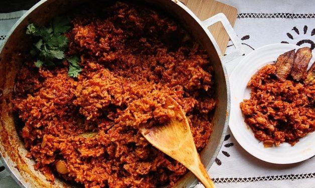 Jollof Rice – spice mix, sauce and full recipe