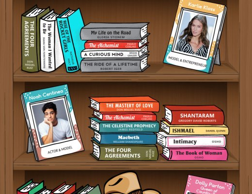 The Bookshelves of 20 Surprisingly Smart Celebrities