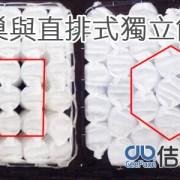 蜂巢式獨立筒床墊與直排式獨立筒床墊的差別