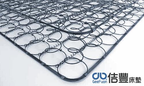 傳統連結式彈簧床墊