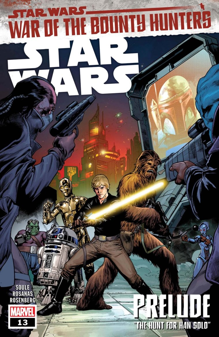 STAR WARS #13  Written by CHARLES SOULE  Art by RAMON ROSANAS  Cover by CARLO PAGULAYAN  On Sale 5/12