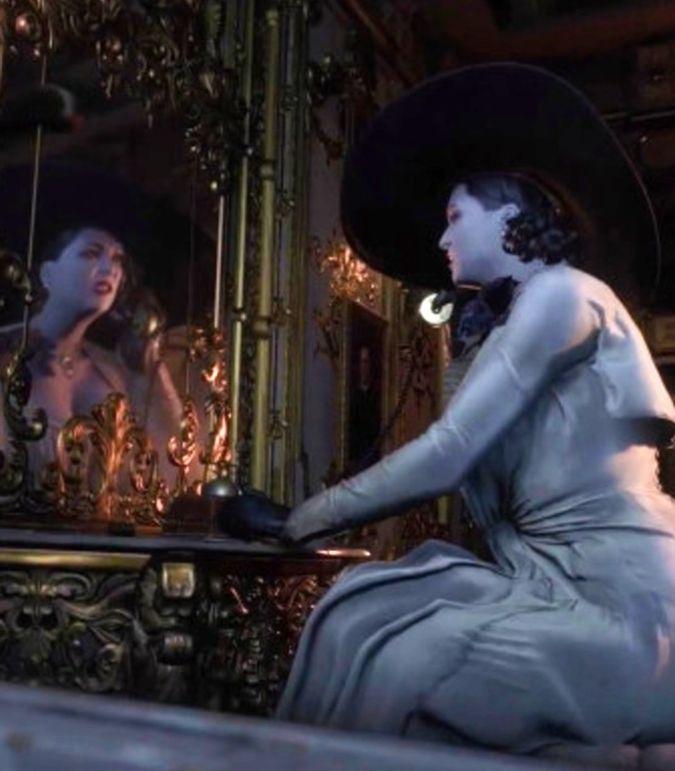 Resident Evil 8 Lady Dimitrescu Vertical