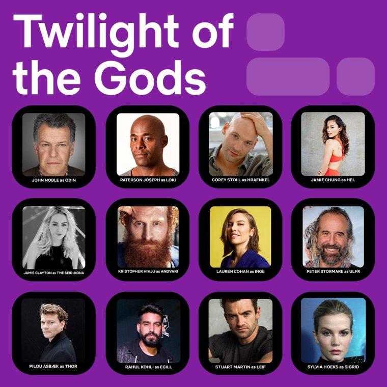 Twilight of the Gods cast