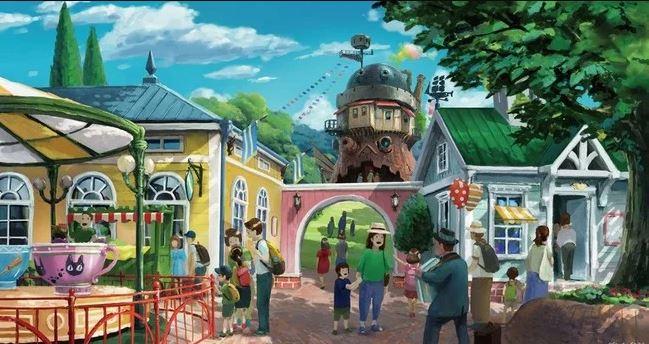 Studio Ghibli theme park 2