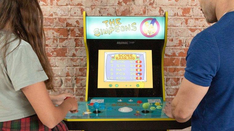 The Simpsons arcade