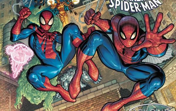 ARTHUR ADAMS' AMAZING SPIDER-MAN #75 COVER