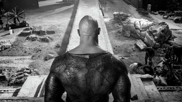 Dwayne Johnson Shares BLACK ADAM Set Photos