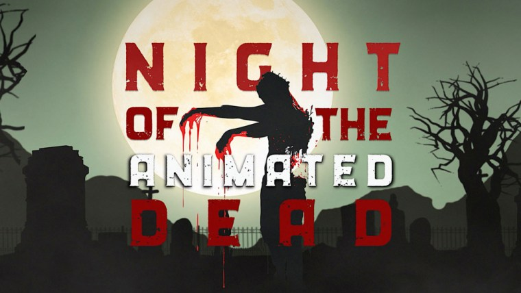 NIGHT OF THE ANIMATED DEAD Red-Band Trailer